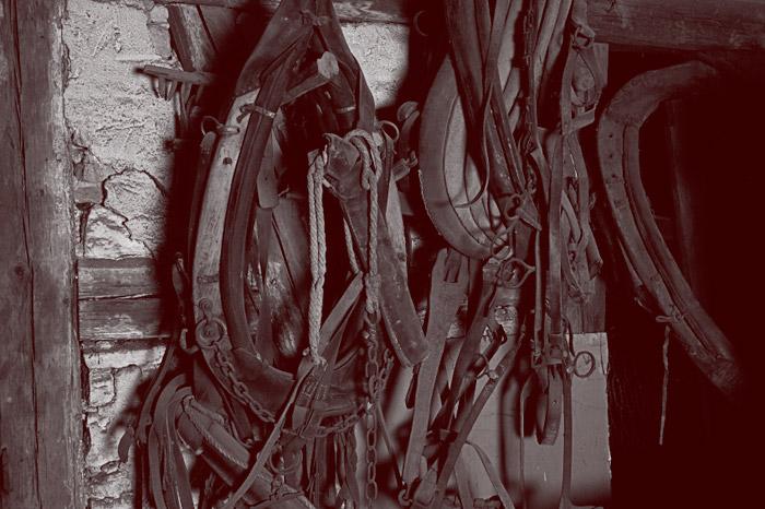 Valjasliike Saarisella on pitk�t perinteet hevostarvikkeiden valmistuksessa ja nahan k�sittelyss�.